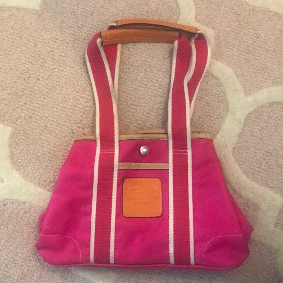 Coach Handbags - Hot pink Coach purse!!
